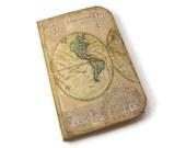 Travel Journal, Travel Scrapbook, Old World Map, Travel Photo Album, Arrows,  Art Journal, Wanderlust, Vacation Journal, MADE TO ORDER