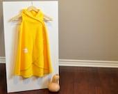 The Sleep 'n Cuddle Wrap Fleece Toddler Sleep Sack and Wearable Baby Blanket (Yellow) Lightweight Fleece