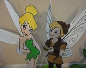 "3 feet Tinkerbell  Friends or any characters Birthday party Centerpiece, cut out Wood or foam ""Standees"""
