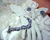 Juliana Bracelet Set   Delectable Cornflower Blue Bracelet Demi D&E   808a-022409087
