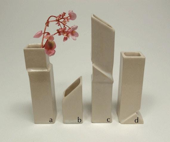Single Geological Bud Vase