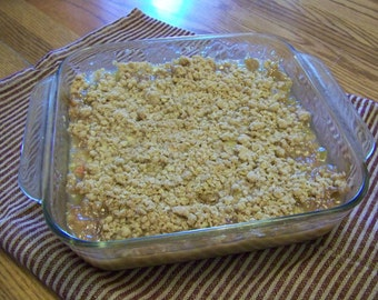 Homemade Old-Fashioned Rhubarb Crunch Recipe
