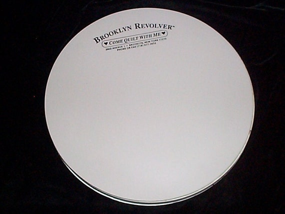 Quilting Mat Turntable Brooklyn Revolver New