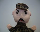 Jack, the soldier - hand puppet