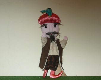 Ottoman Pasha  - 15.7 inches hand puppet toy for children for tales