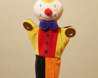 Clown with cimbals - Paint it for yourself