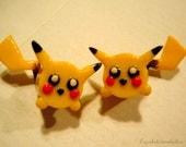 Pikachu with tail- Pokemon Plugs