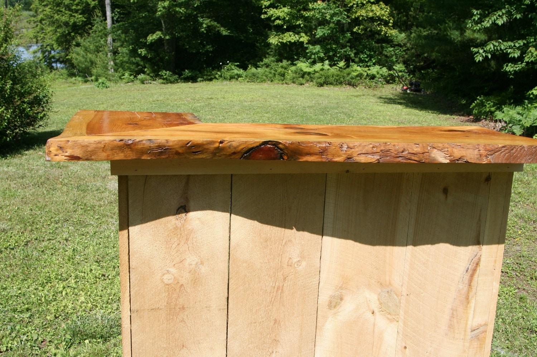 Items similar to slab pine bar Starting at 599 on Etsy
