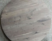 Made to Order Large Round Black Walnut Custom Glue-Up Dining/Coffee Table Top Lumber Furniture 10531