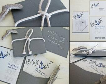 Anchor Away Complete Wedding Set