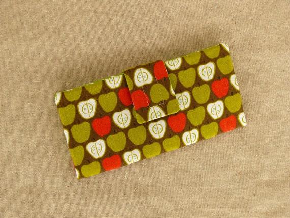 Apple Print Women's Wallet