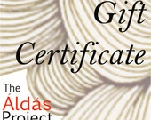 Gift Certificate - Redeemable for one (1) original drawing, for International shipping only