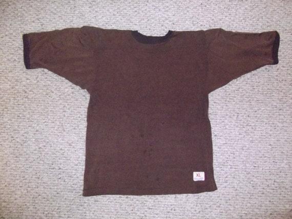brown XL football jersey 16