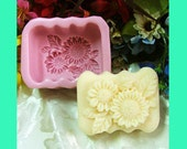 R0167 Flos Chrysanthemi Soap Mold Silicone Soap Mold Flower Soap Molds Handmade Soap Mold Silicone Molds Soap Mould
