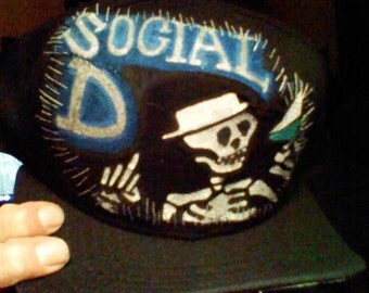 Custom Social D Patch for David