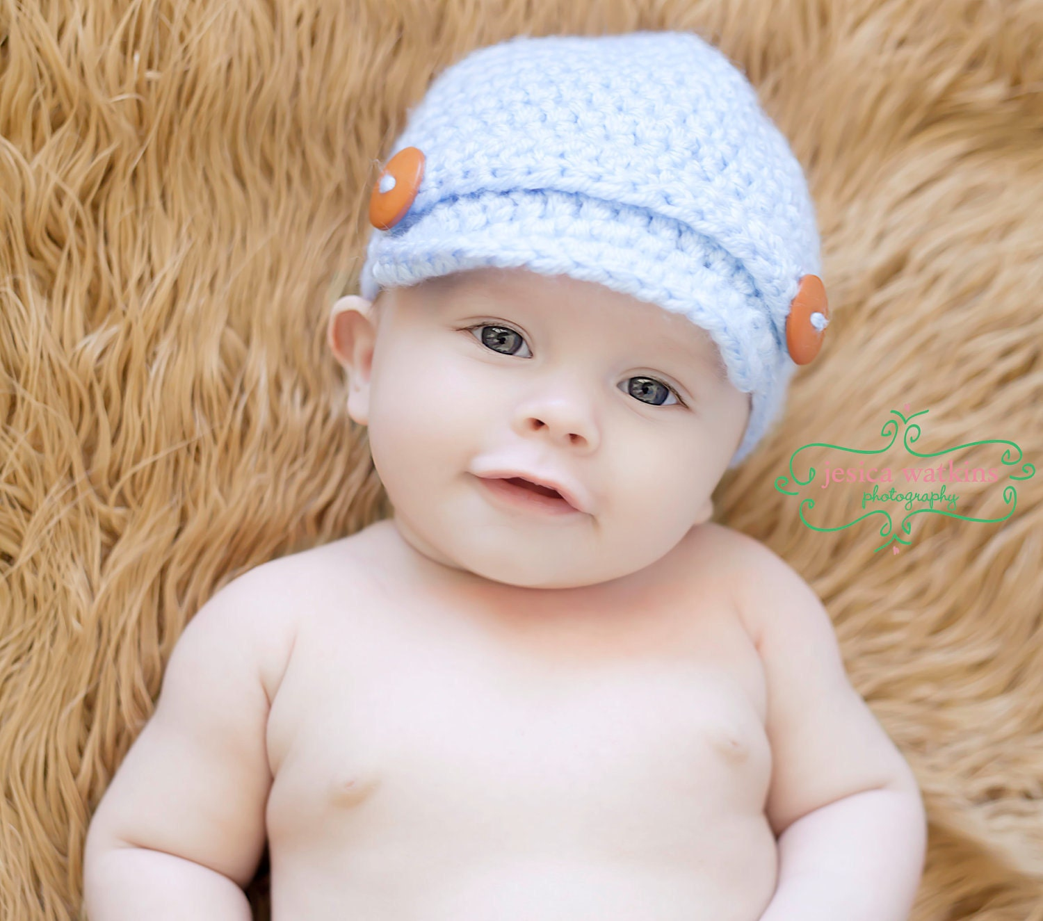 Crochet Baby Newsboy Hat Newborn Newsboy Hat Crochet