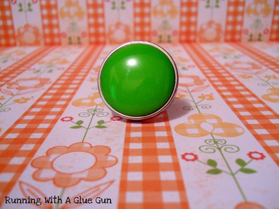 Miss. Donna- Green Mood Ring
