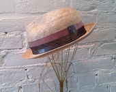 Straw Multi Fedora Hat