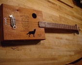 Cigar Box Guitar - Howlin Wolf