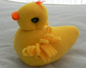 Squeaky Dog Toy Plushy - Duck - Made To Order