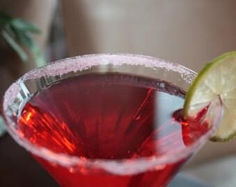 Pink Citrus Rimming Sugar - Perfect for Cosmopolitans