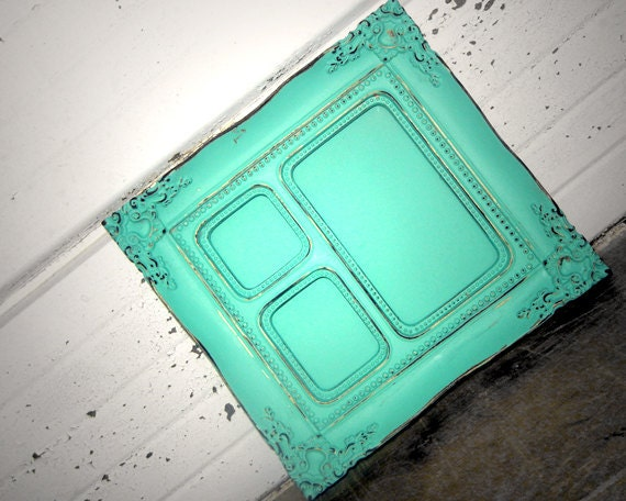 Aqua Mint Multi Opening FRAME - Sweet Little Aqua Mint Frame