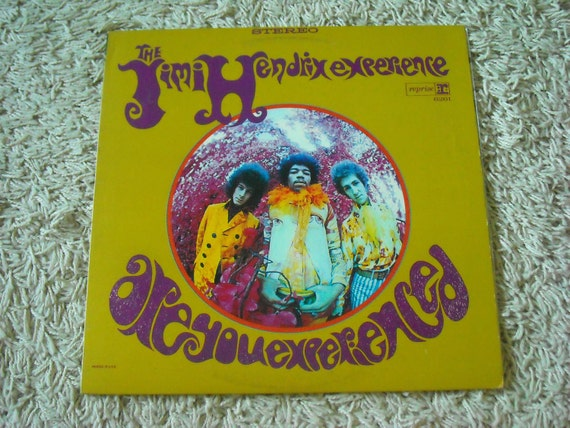 Jimi Hendrix Experience - Are you Experienced Lp CLEAN psych rock classic acid soul vinyl record