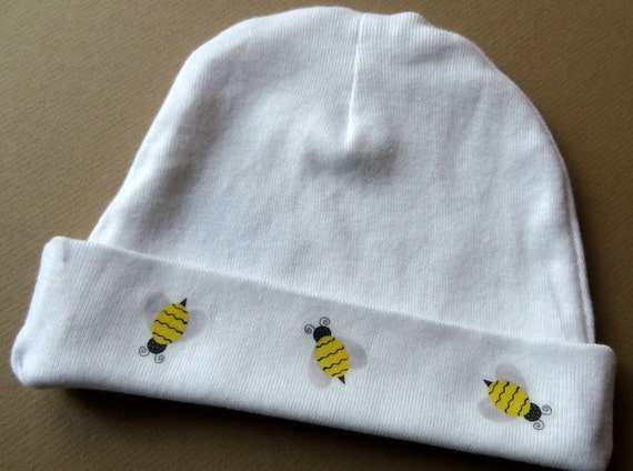 Baby Bumble Bee Hat