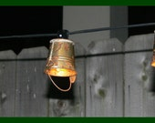 Itty Bitty Bucket Lights- Very Flea Market Chic - Indoor - Outdoor String Lights - Available in 9 to 50 lights per string