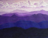 Lavender Mountains