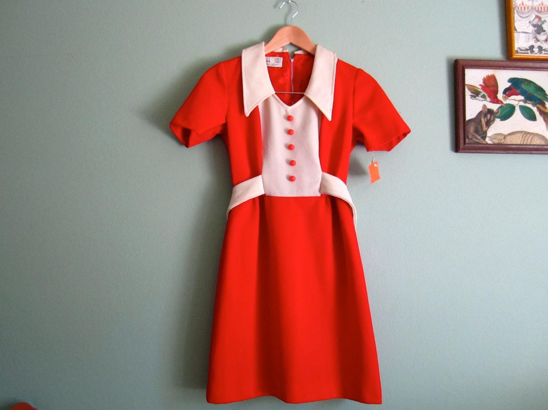 1960s dress/ 60s mod dress/ vintage 60s mini dress by MILKTEETHS