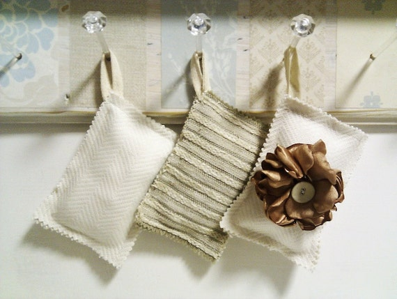 lavender sachet bags for drawers, linen or hanging clothes