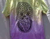 Cloudfather Green to Purple Ombre Demon tshirt