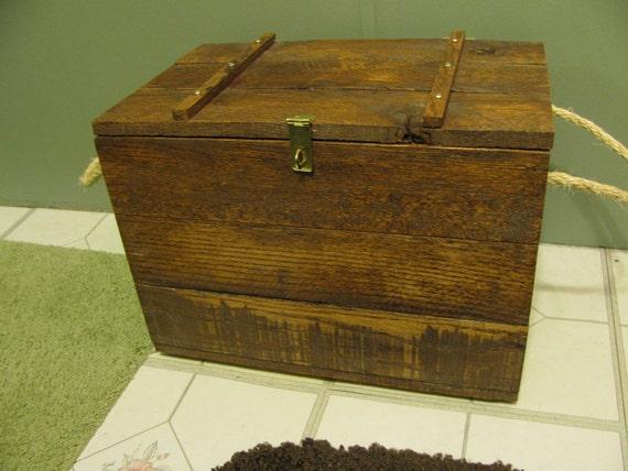 Reclaimed Rustic Wood Box