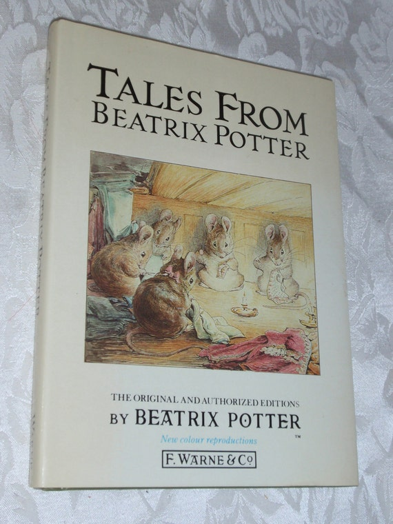 Sale 1988 Hardcover Book Tales From BEATRIX POTTER 4 Classic Stories