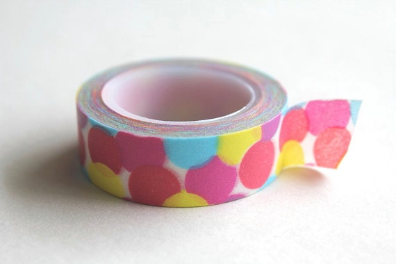 Etsy Holiday - Washi tape - Street Light glow 10 meters