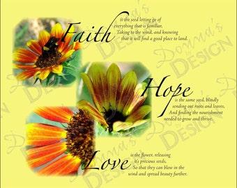 Faith, Love, and Hope Artwork