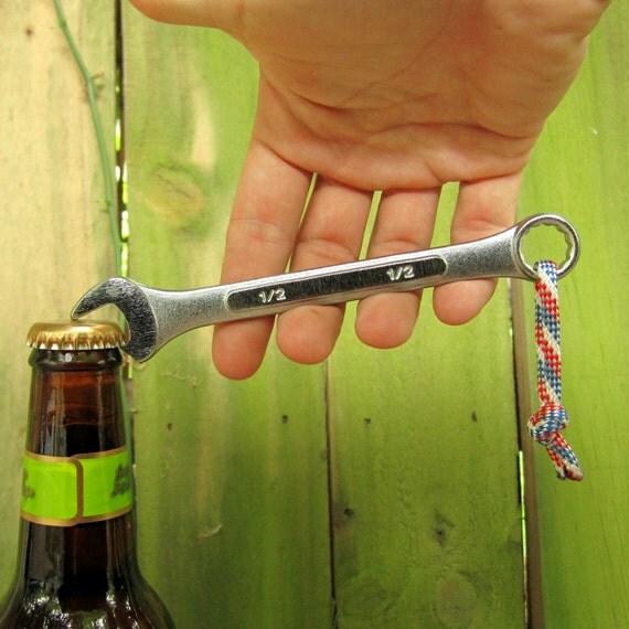The Bottle Wrench Bottle Opener - Original - Red, White, & Blue