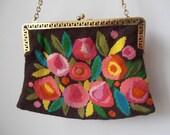 Lovely handmade handbag.