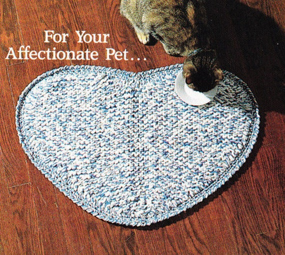 KNITTED THROW RUG PATTERNS