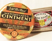 Vintage Advertisement Tins