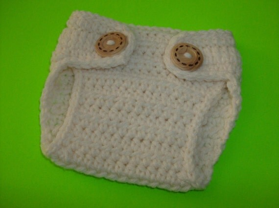 Crochet Baby Diaper Cover Newborn Diaper Cover Baby Diaper Cover Newborn Photo Prop , Made TO Order