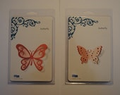 QuicKutz Combo Die 2 - Pack - Butterflies - 4 Inch by 4 Inch Dies