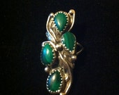 Zuni/Tribal Ring Excellent Stones and Setting
