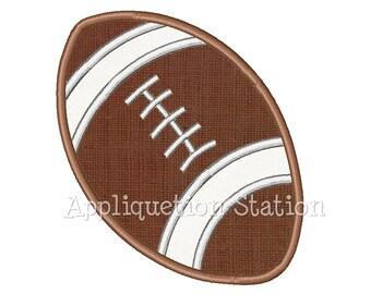Football Applique Machine Embroidery Design Boy Sport INSTANT DOWNLOAD