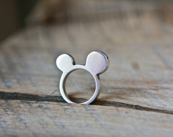 Mickette silver ring