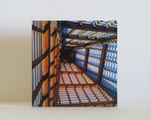 Architectural Photography Print Wood Frame Box