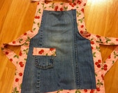 Cute Child Denim Apron
