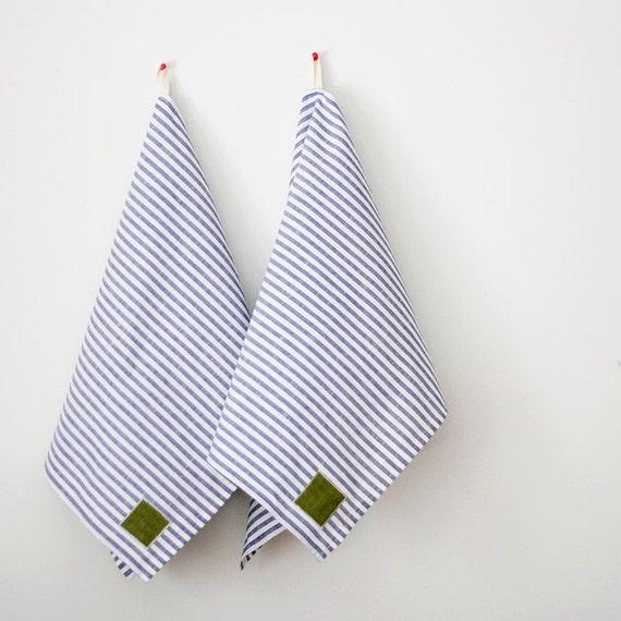 Kitchen towels dish towel - tea linen towel 16x28