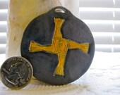 Celtic and Saint Brigid's Cross Pendant